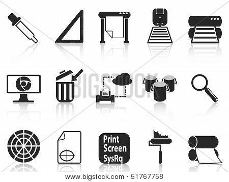 Print Icons Set