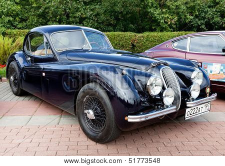 Classic Old Car Black