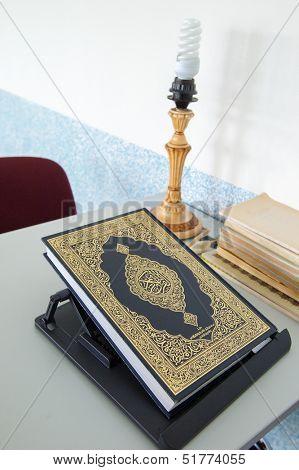 Book Koran in Mosque