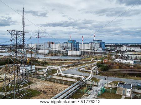 Khmelnitsky nuclear power plant.