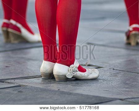 Female Feet In Shoes