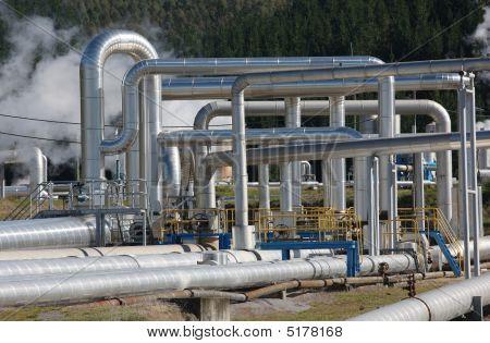 Steam Pipes, Geothermal Energy