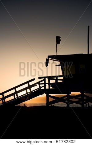 La County Lifeguard Tower