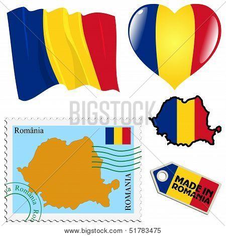 National Colours Of Romania