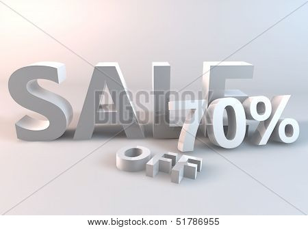 White Sale 70% off