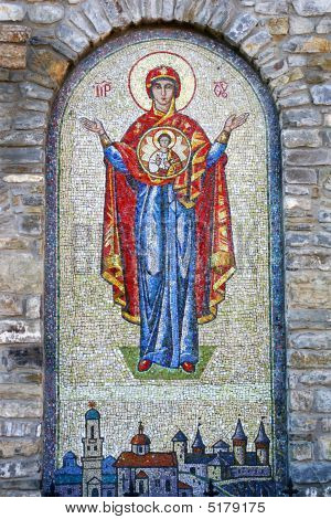 A Mosaic From Smalt