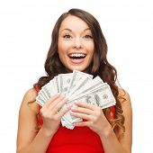stock photo of american money  - christmas - JPG