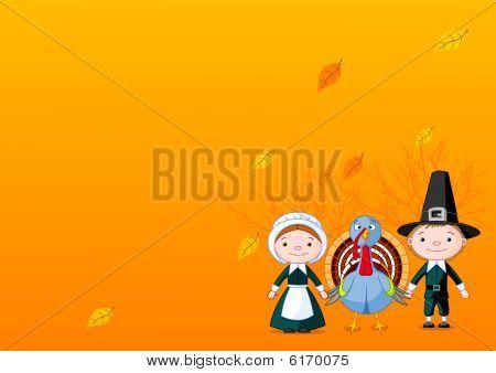 Pilgrims background