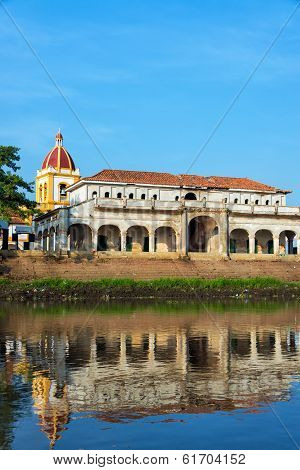 Mompox River And Reflection