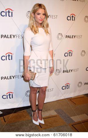 LOS ANGELES - MAR 16:  Ashley Benson at the PaleyFEST -
