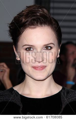 LOS ANGELES - MAR 18:  Veronica Roth at the