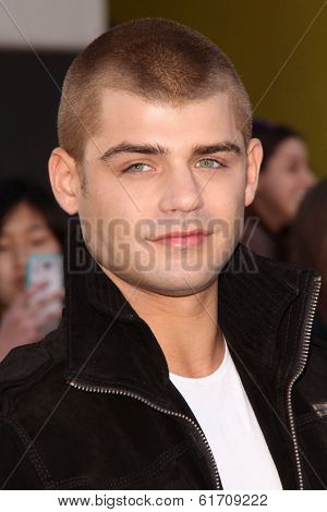 LOS ANGELES - MAR 18:  Garrett Clayton at the