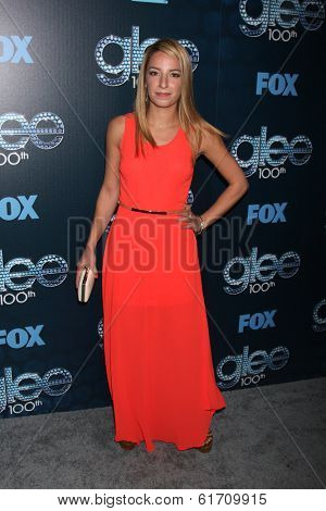 LOS ANGELES - MAR 18:  Vanessa Lengies at the GLEE 100th Episode Party at Chateau Marmont on March 18, 2014 in West Hollywood, CA