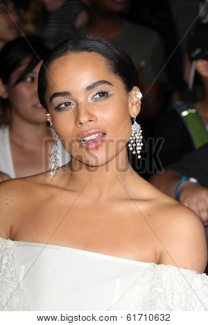 LOS ANGELES - MAR 18:  Zoe Kravitz at the