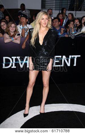 LOS ANGELES - MAR 18:  Ellie Goulding at the