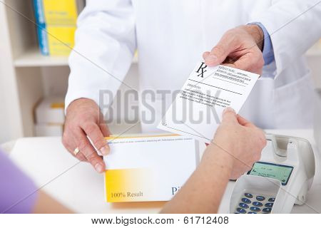 Buying Prescription Medicine At Drugstore