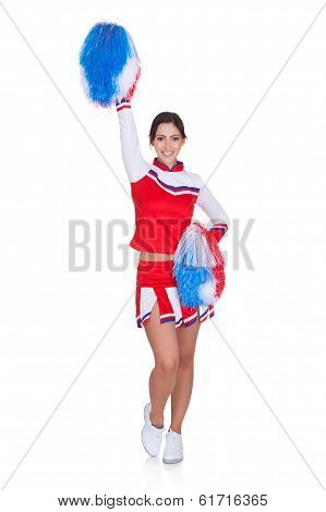 Happy Smiling Cheerleader