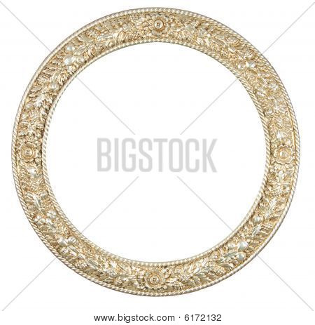 Isolated Circle Frame