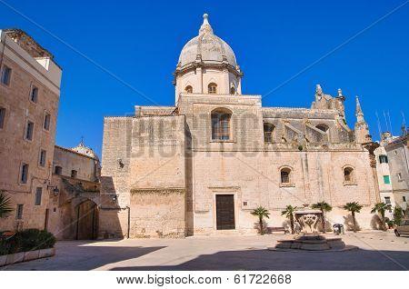 Church of SS. Pietro and Paolo. Monopoli. Puglia. Italy.