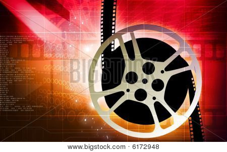 Film with film reel
