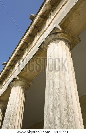 Neo-classicistic Columns, Corfu, Greece