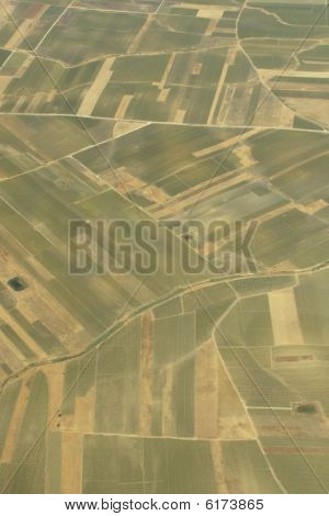 Agriculture, aerial view