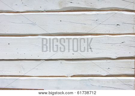 White Painted Boards