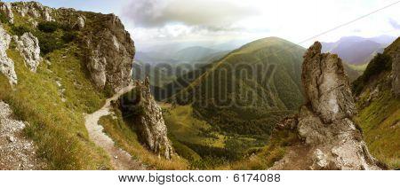 Valley Panorama - Hills Of Mala Fatra