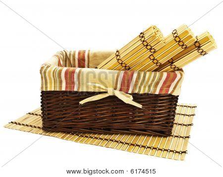 Basket And Mats