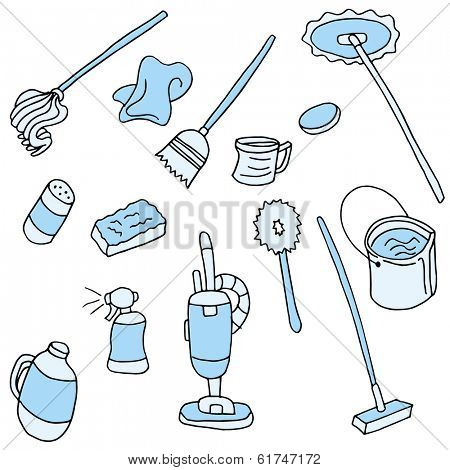 An image of cleaning items.