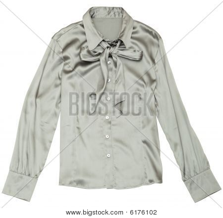 Women's Grey Blouse.