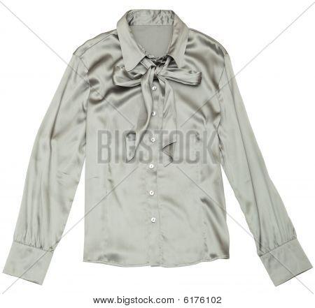 Women's Grey Blouse.