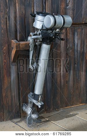 Old Outboard Motor