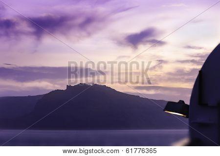 Sunset Over The Caladera