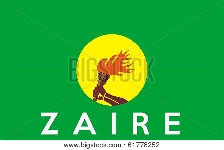 Flag Of Zaire-congo