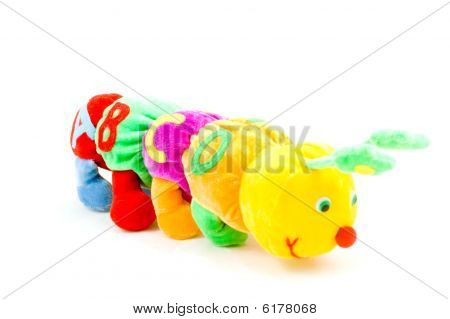 Kids Caterpillar Toy With Abcd (focus On The A)