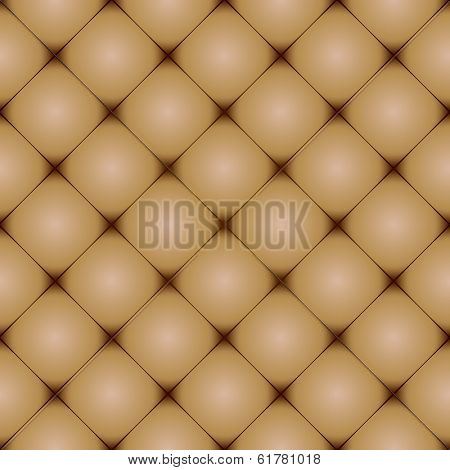 brown leather background with seamless repeating design