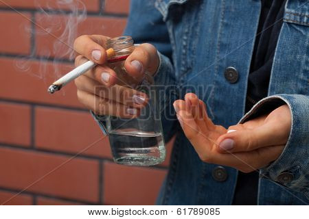 Teenager With Stimulants