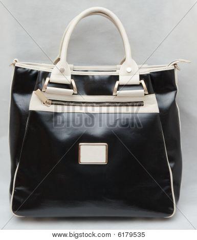 Leather Handbag.