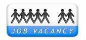 stock photo of miss you  - job vacancy help wanted search employees for jobs opening find worker for open vacancies or missing person - JPG