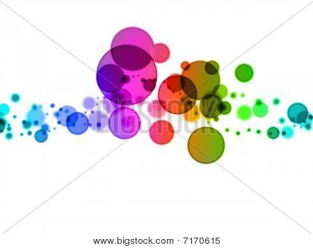blurry dots