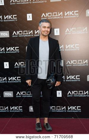 MOSCOW, RUSSIA, May, 13: A. Rogov . Premiere of the movie