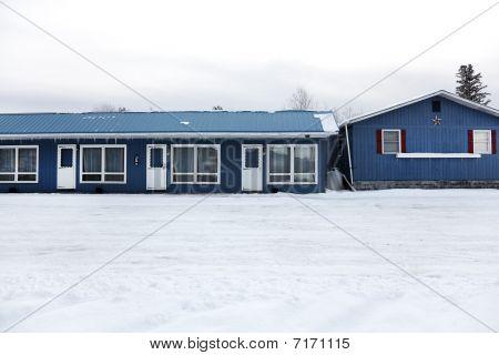 Closed Winter Motel