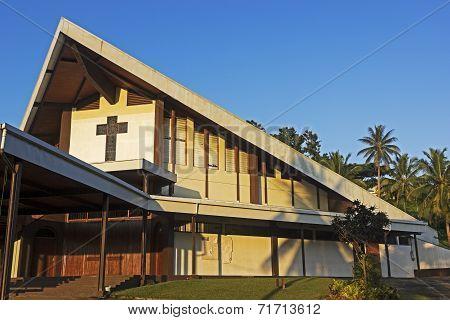 Catholic Cathedral In Port Vila, Vanuatu