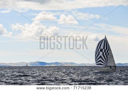 Yacht Travelling Adriatic Sea