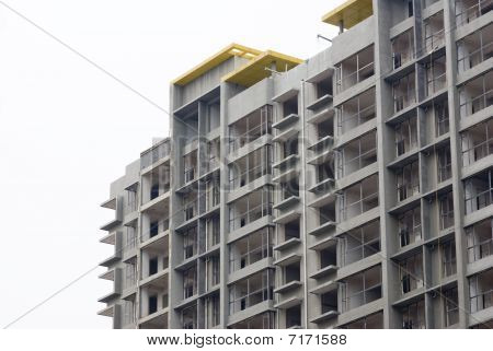 Under Construction Apartment Building - Urban Living