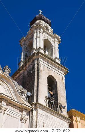Church of Carmine. Torremaggiore. Puglia. Southern Italy.
