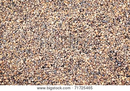 Small Rocks Texture Background