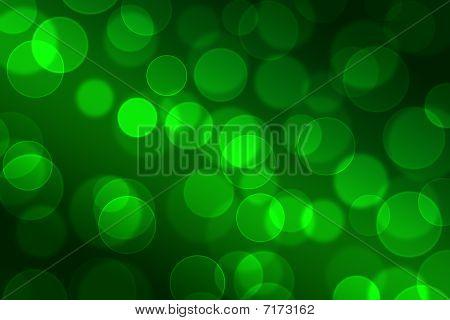 Bokeh Green