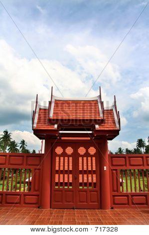 Doorway To King Rama II Memorial